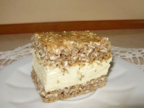 Przepis: Ciasto orzechowe  wg Katarzyny Magnuszewskiej