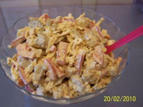Przepis: Pikantna sałatka ze schabem