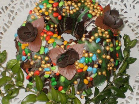 Przepis: Babka wielkanocna cytrynowo-kakaowa