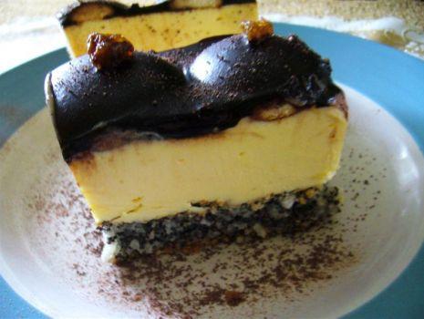Przepis: Cycuszki murzynki z serem