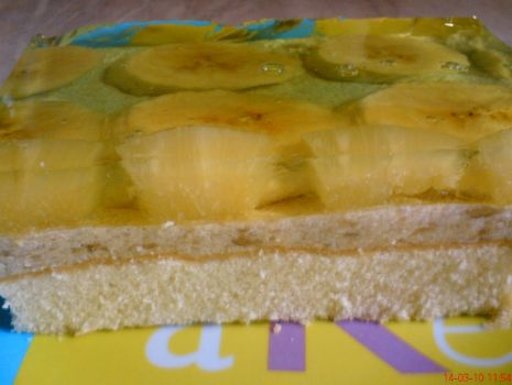 Przepis: Bananowiec