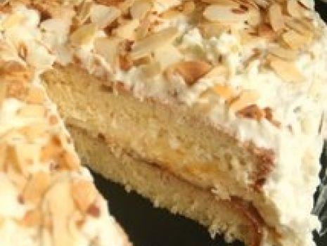 Przepis: Szybki tort Rafaello lekko morelowy