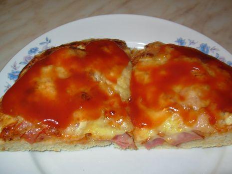 Przepis: Pizza dla 1 głodomora