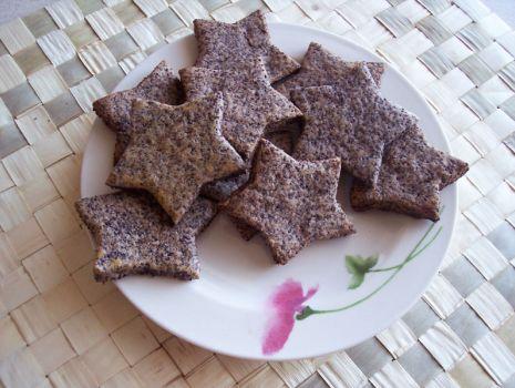 Przepis: Makowe ciasteczka