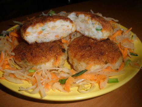 Przepis: Pulpety rybne z marchewką
