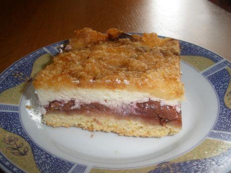 Przepis: Wiśniowe ciasto z kruszonką