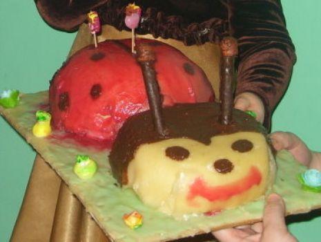 Przepis: Wyśmienity tort biedronka
