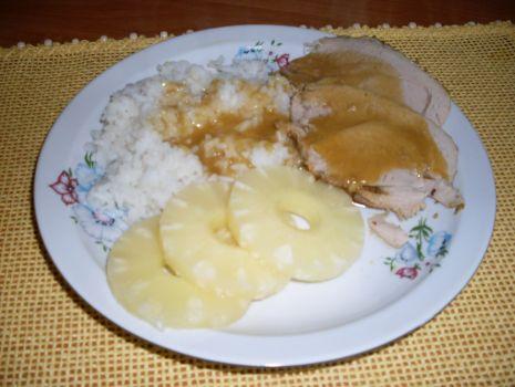 Przepis: Pieczeń w sosie własnym