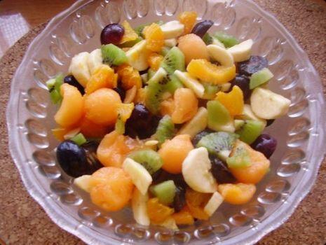 Przepis: Sałatka owocowa 2.