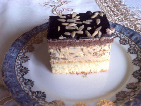 Przepis: ciasto słonecznikowe