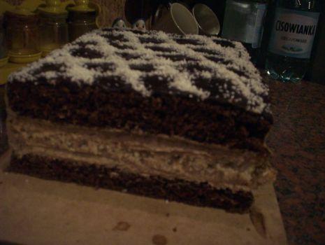 Przepis: Placek jak tort