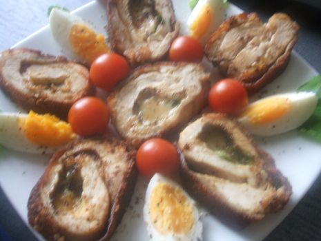 Przepis: Filet z serem