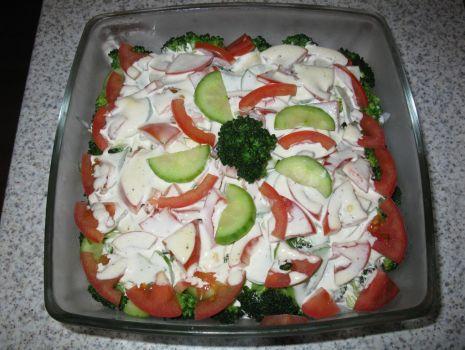 Przepis: Sałatka z brokułem
