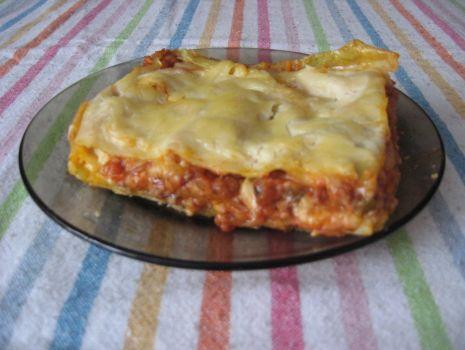 Przepis: Lasagne z sosem beszamelowym