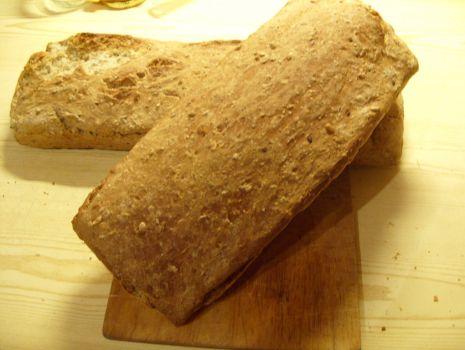 Przepis: Domowy chleb na zakwasie