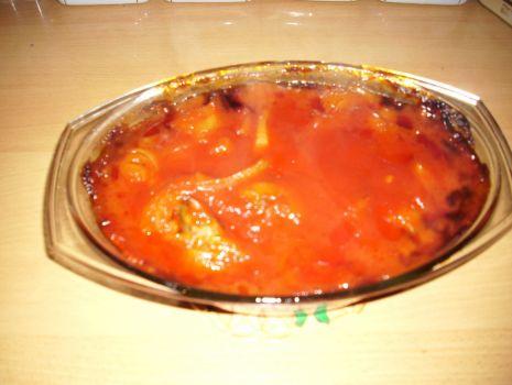 Przepis: Żeberka zapiekane w cebuli