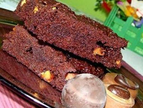 Przepis: Potrójnie czekoladowe brownie