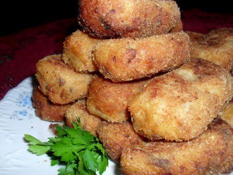 Przepis: Krokiety ziemniaczano-grzybowe