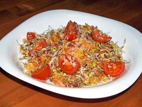Przepis: ryżowa potrawka pod kołderką z kiełków