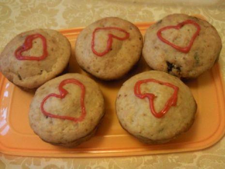 Przepis: Zakochane muffinki