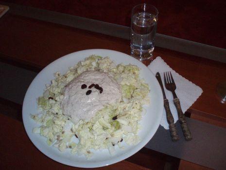 Przepis: Sałatka z kapusty pekińskiej na słodko