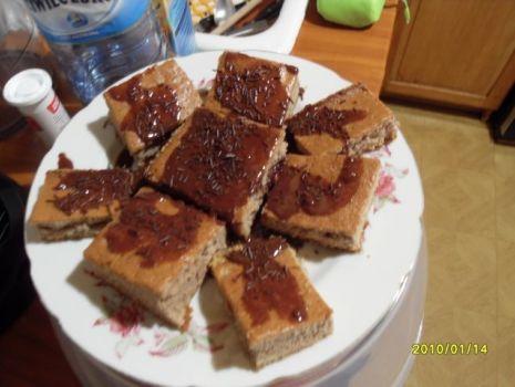 Przepis: Słodkości kakaowo-czekoladowe o lekkiej nutce rumowej ;)