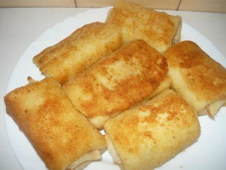 Przepis: Krokiety z serem i ziemniakami