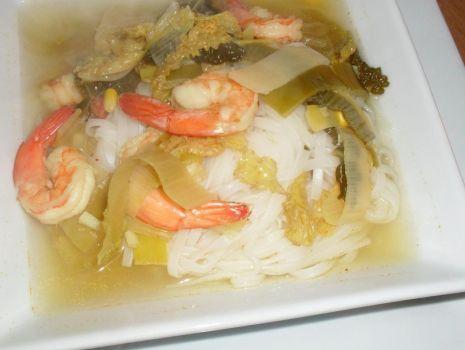 Przepis: Moja orientalna zupa z krewetkami