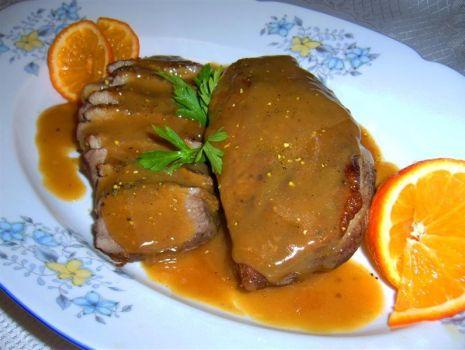 Przepis: Piersi z kaczki w pikantnym sosie pomarańczowym