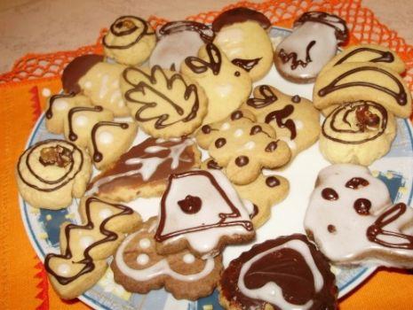 Przepis: Krucha ciasteczka, bardzo dobre