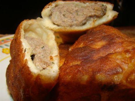 Przepis: Bułgarsko-tureckie pierogi z mięsem