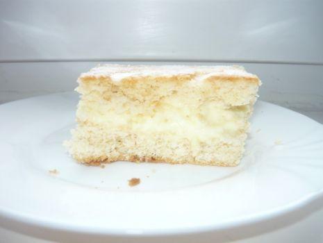 Przepis: ciasto z budyniem