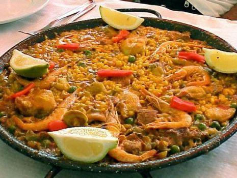 Przepis: Paella z Malagi