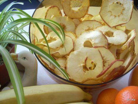 Przepis: Chipsy jabłkowe