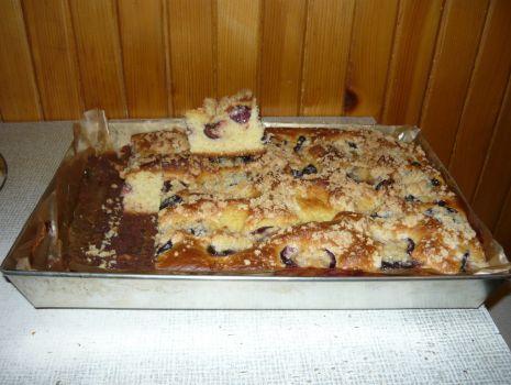 "Przepis: Ciasto drożdżowe ""Nygus"""