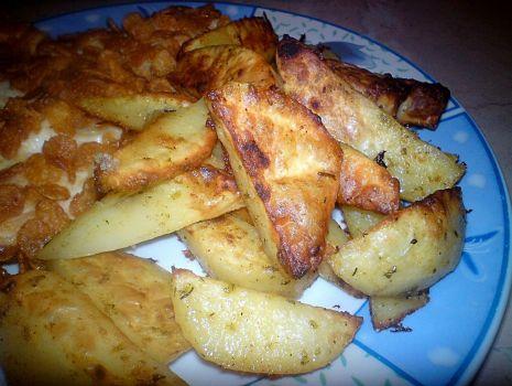 Przepis: Pieczone ziemniaki