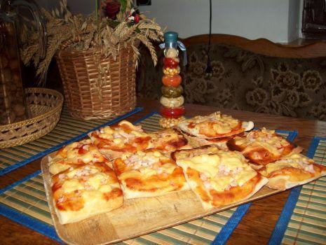 Przepis: mini pizze