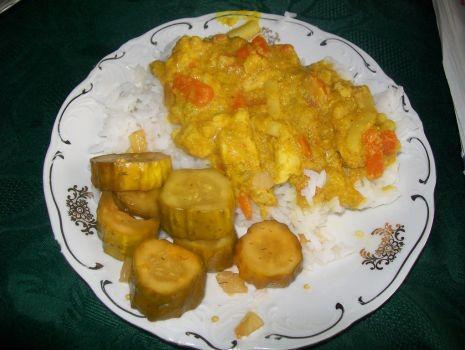 Przepis: Kurczak w sosie curry