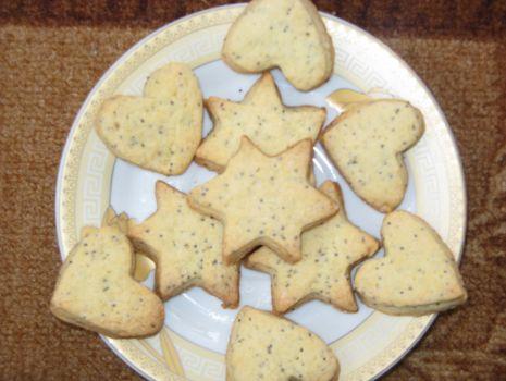 Przepis: Ciasteczka z makiem i kokosem
