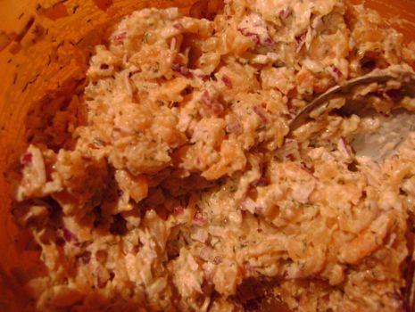 Przepis: Pasta łososiowa