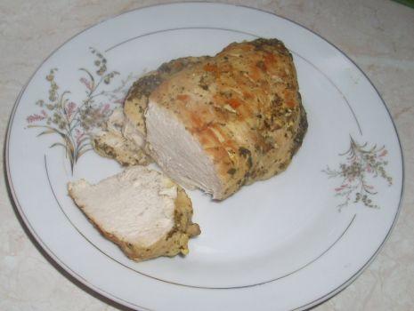 Przepis: pieczone piersi z kurczaka