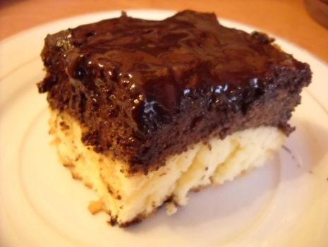 Przepis: Ciasto makowo-biszkoptowe