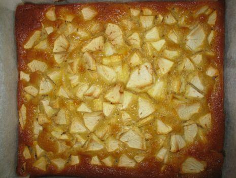 Przepis: Szybkie ciasto z jabłkami