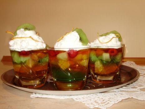Przepis: Galaretka z owocami