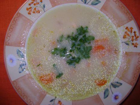 Przepis: Zupa łososiowa