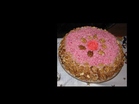 Przepis: Błyskawiczny  tort