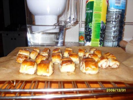 Przepis: Ciasteczka francuskie