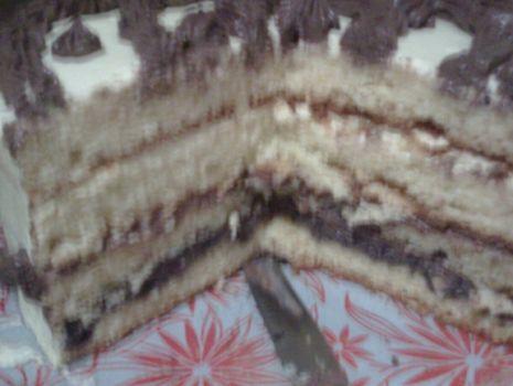 Przepis: Tort sylwestrowy