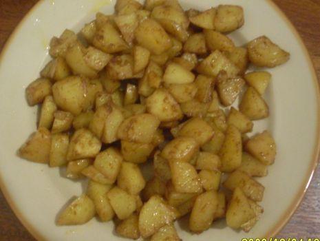 Przepis: Ziemniaki z piekarnika