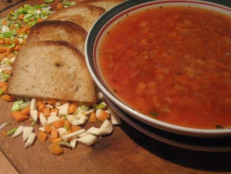 Przepis: Pomarańczowa zupa jarzynowa